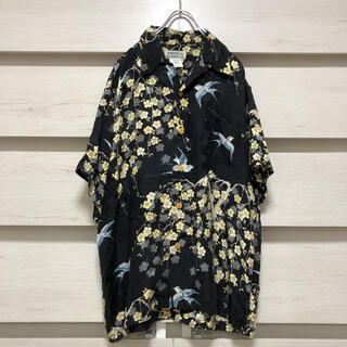 サンサーフ(Sun Surf)のMAKANALEI マカナレイ アロハシャツ 半袖 シルク100%(シャツ)