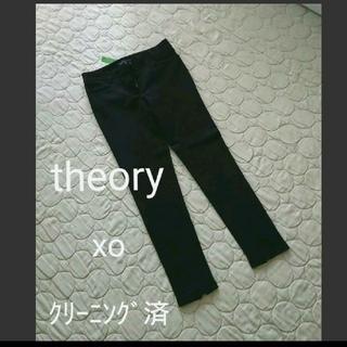 theory - セオリー☆ブラックパンツ美品