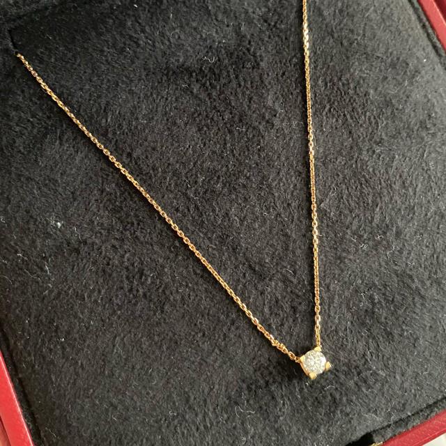 Cartier(カルティエ)の専用 Cartier K18 ダイヤモンド ネックレス セードゥカルティエ レディースのアクセサリー(ネックレス)の商品写真