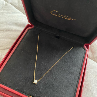 Cartier - C de Cartier K18 ダイヤモンド ネックレス セードゥカルティエ