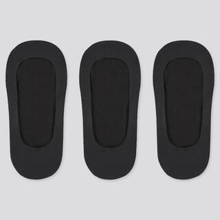 ユニクロ(UNIQLO)のユニクロUNIQLOベリーショートソックス(ブラック)23-25   2足セット(ソックス)