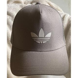 adidas - 程度良好キャップ♪【adidas アディダス】グレーのメッシュ仕様CAP帽子