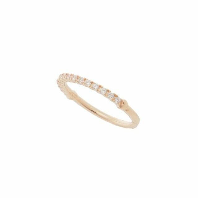 サマンサ・シルヴァ❤️K10・CZ❤️ハーフエタニティリング レディースのアクセサリー(リング(指輪))の商品写真