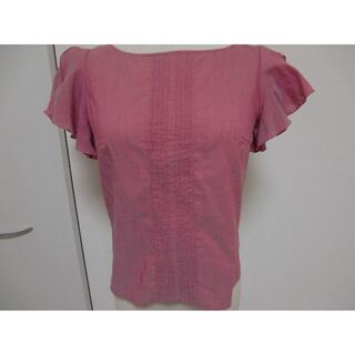 トッカ(TOCCA)のトッカ ブラウス ピンク系 0(シャツ/ブラウス(半袖/袖なし))