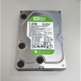 HDD 3.5インチ 1.5TB WD GREEN SATA 良品 #47