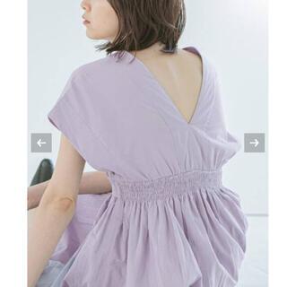 Noble - 【新品タグ付】《WEB限定追加3》【MARIHA】 夏の光のドレス サイズ36