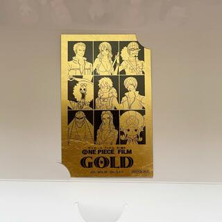 ワンピース フィルム ゴールド 金箔カード(その他)