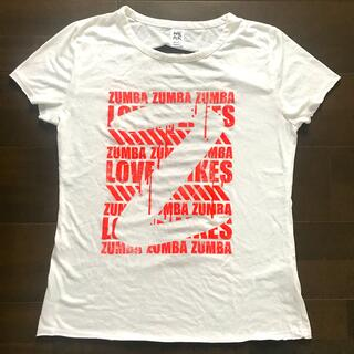 ズンバ(Zumba)のZumba ズンバ 白 半袖Tシャツ サイズM(トレーニング用品)