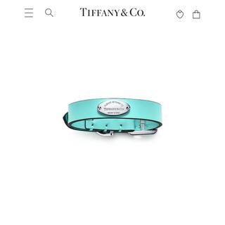 ティファニー(Tiffany & Co.)のyukiさま専用 Tiffany&Co. ティファニー 首輪 ペットカラー(猫)