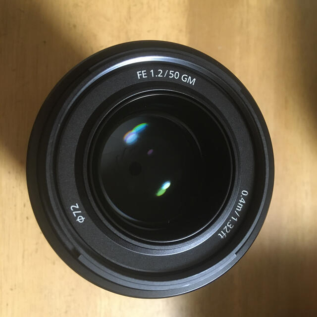 SONY(ソニー)の美品 SONY FE 50mm F1.2 GM SEL50F12GM スマホ/家電/カメラのカメラ(レンズ(単焦点))の商品写真