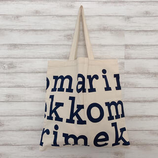 marimekko - マリメッコロゴ レディース トート バッグ エコ 北欧 オーガニックコットン 鞄