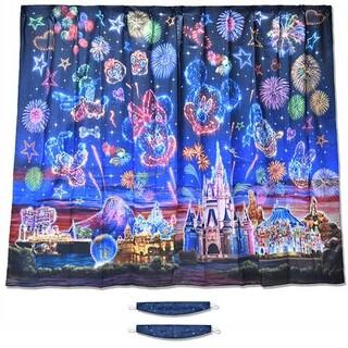 ディズニー(Disney)のディズニーリゾート カーテン 夜空 花火(カーテン)