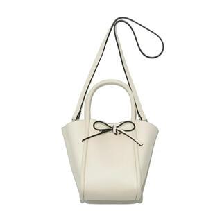 FRAY I.D - リボンスモールバッグ フレイ ハンドバッグ ショルダーバッグ 白 バッグ