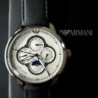 エンポリオアルマーニ(Emporio Armani)のエンポリオアルマーニ 機械式腕時計 AR4613 自動巻き ムーンフェイズ(腕時計(アナログ))