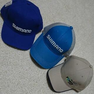 SHIMANO - SHIMANO釣りキャップ3点セット