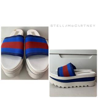 ステラマッカートニー(Stella McCartney)のステラマッカートニー ホワイトトリコ サンダル(サンダル)