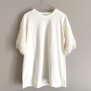 トゥデイフル(TODAYFUL)のCLANE  フリンジTEE(Tシャツ(半袖/袖なし))