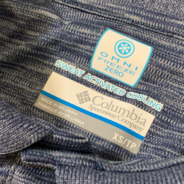 Columbia(コロンビア)のColumbia コロンビア 速乾 ポロシャツ XS メンズのトップス(ポロシャツ)の商品写真