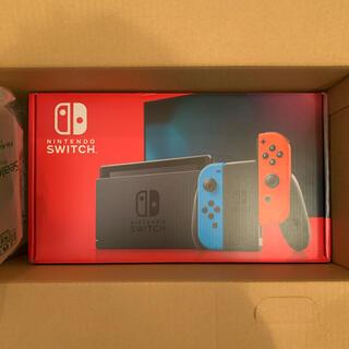 ニンテンドースイッチ(Nintendo Switch)のNintendo Switch  ネオンブルー/ネオンレッド 新品未開封(家庭用ゲーム機本体)