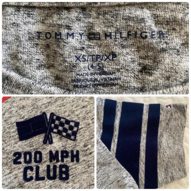 TOMMY HILFIGER(トミーヒルフィガー)の【美品】TOMMY HILFIGER♡トミー Tシャツ トップス ワッペン キッズ/ベビー/マタニティのキッズ服男の子用(90cm~)(Tシャツ/カットソー)の商品写真