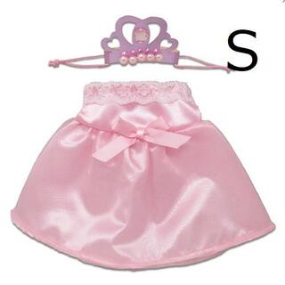 残1 プラッシュコスチューマー Sサイズ ピンクドレス 045090(ぬいぐるみ)
