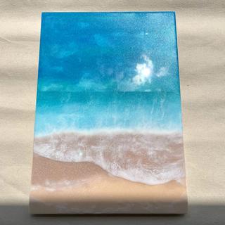 レジンアート B4 海アート 壁掛け アート 絵 海 ハンドメイド 雑貨 風水 (アート/写真)