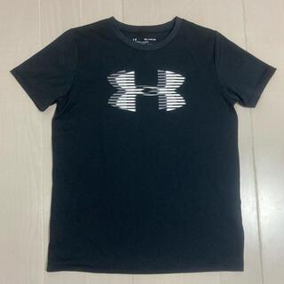 UNDER ARMOUR - アンダーアーマー UNDER ARMOUR  160  Tシャツ 黒