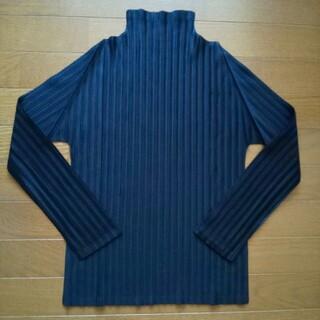 PLEATS PLEASE ISSEY MIYAKE - プリーツプリーズ ISSEY MIYAKE 未使用ハイネックシャツ