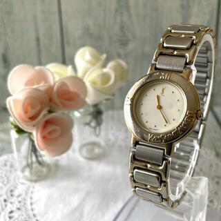 サンローラン(Saint Laurent)の【動作OK】Yves Saint Laurent 腕時計 ベージュ レディース(腕時計)