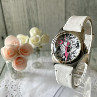 マークバイマークジェイコブス(MARC BY MARC JACOBS)の【動作OK】MARC BY MARC JACOBS 腕時計 シルバー(腕時計)