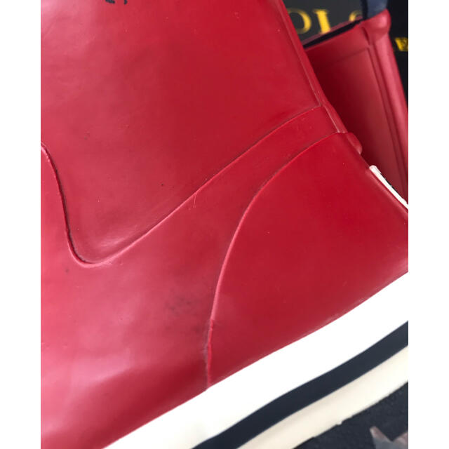 POLO RALPH LAUREN(ポロラルフローレン)の新品!訳あり‼️ポロ ラルフローレン🐎レインシューズ!長靴! キッズ/ベビー/マタニティのキッズ靴/シューズ(15cm~)(長靴/レインシューズ)の商品写真