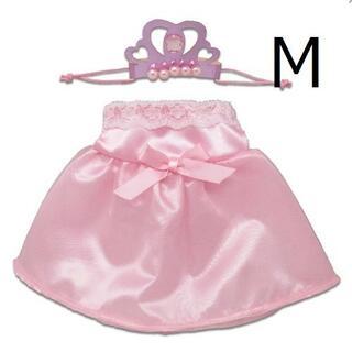 残1 プラッシュコスチューマー Mサイズ ピンクドレス 0568800(ぬいぐるみ)