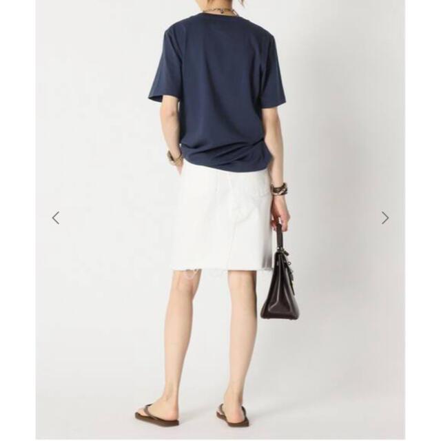 DEUXIEME CLASSE(ドゥーズィエムクラス)の【AMERICANA/アメリカーナ】 AMRCN Tシャツ レディースのトップス(Tシャツ(半袖/袖なし))の商品写真