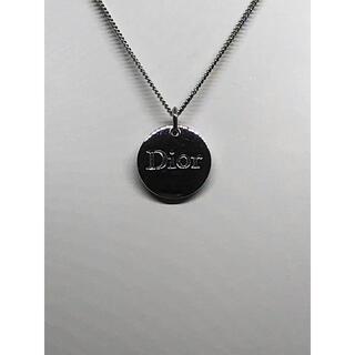 Christian Dior - クリスチャンディオール  Dior シルバー ロゴ ネックレス
