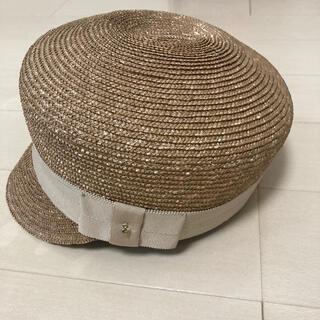 バナーバレット(Banner Barrett)のバナーバレット 帽子 未使用(麦わら帽子/ストローハット)