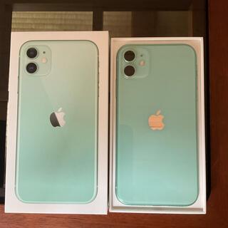 iPhone - iPhone11 64GB Green SIMフリー 極美品