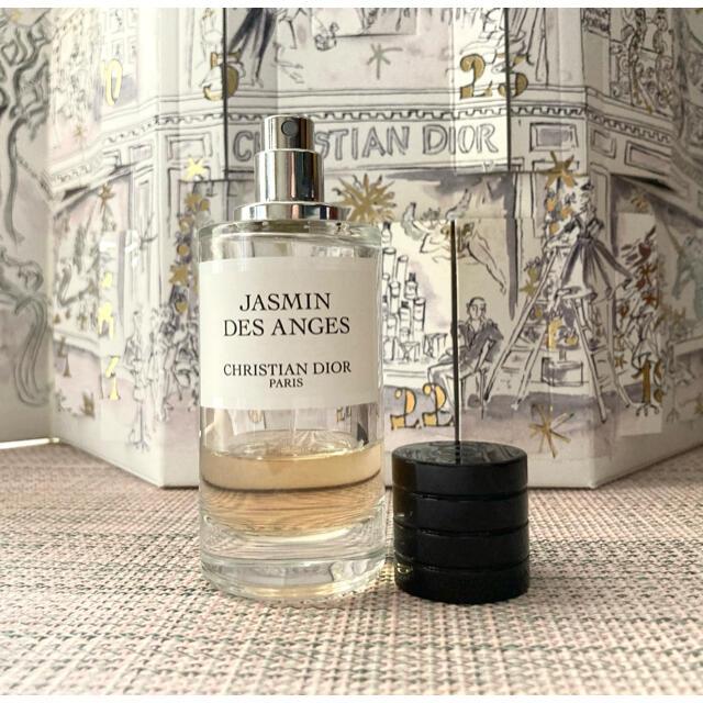 Dior(ディオール)のメゾンクリスチャンディオール ジャスミン デ サンジュ  現品 1/4ほど コスメ/美容の香水(香水(女性用))の商品写真