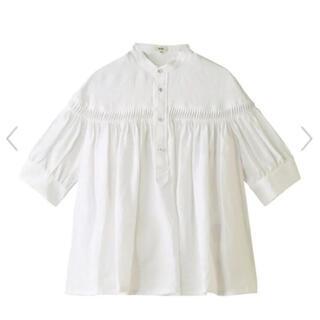 サイ(Scye)のScye タックシャツブラウス(シャツ/ブラウス(半袖/袖なし))