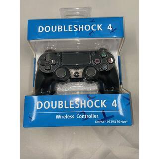 【送料無料新品】 PS4‗01 社外ワイヤレスコントローラー ブラック(家庭用ゲーム機本体)