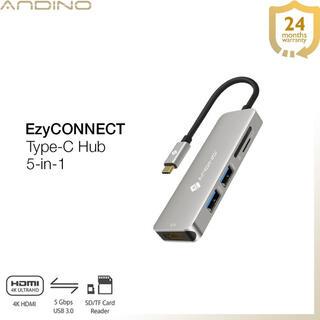 アダプタ マルチポート タイプc ハブ hdmi+USB 3.0  アダプター(PC周辺機器)