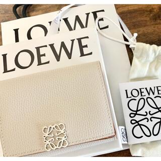 LOEWE - LOEWE アナグラム トリフォルド 6cc ウォレット