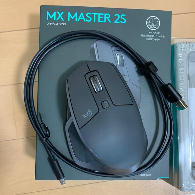 MX MASTER 2S 送料込・美品です スマホ/家電/カメラのPC/タブレット(PC周辺機器)の商品写真