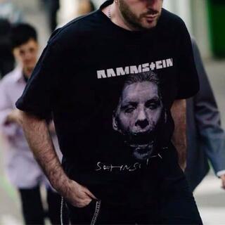 VETEMENTS ラムシュタイン Tシャツ XSサイズ(Tシャツ/カットソー(半袖/袖なし))