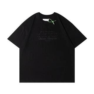 Maison Martin Margiela 刺繍 Tシャツ  MM6(Tシャツ/カットソー(半袖/袖なし))