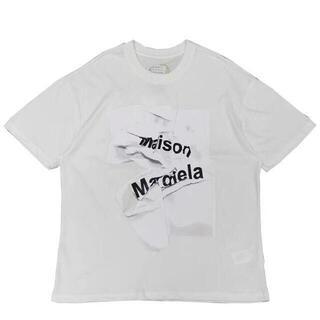 Maison Margiel ロゴ Tシャツ Tシャツ カットソー(Tシャツ/カットソー(半袖/袖なし))