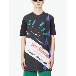 RAF SIMONS ブラック Boom Boomer T シャツ(Tシャツ/カットソー(半袖/袖なし))