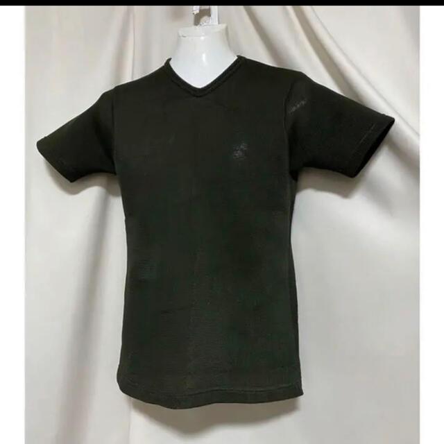 Yohji Yamamoto(ヨウジヤマモト)のyohji yamamoto ヨウジヤマモト ボンディングメッシュ Tシャツ メンズのトップス(Tシャツ/カットソー(半袖/袖なし))の商品写真