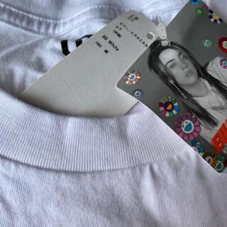 ユニクロ(UNIQLO)のUNIQLO Billy 新品 L ホワイト(Tシャツ/カットソー(半袖/袖なし))