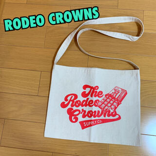 ロデオクラウンズ(RODEO CROWNS)の新品未使用★ロデオクラウンズ★サコッシュ★ショルダーバッグ★★サコッシュ★白(ショルダーバッグ)