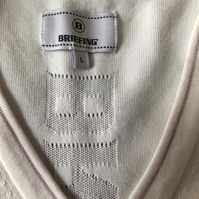 BRIEFING(ブリーフィング)のブリーフィング ゴルフ ベスト 美品 スポーツ/アウトドアのゴルフ(ウエア)の商品写真